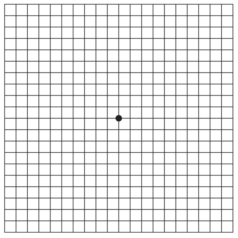Amsler Grid - Macula Vision Research Foundation
